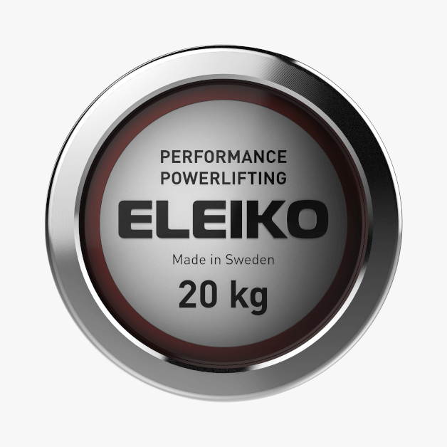 Bar Eleiko - PERFORMANCE POWERLIFTING BAR - 20 KG