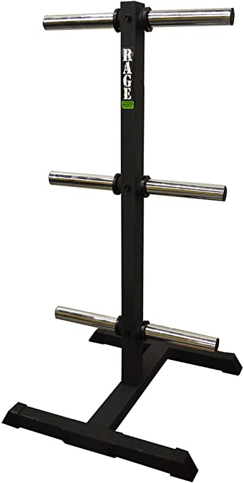 Barbell Rack Vertical Bumper Tree - RAGE FITNESS