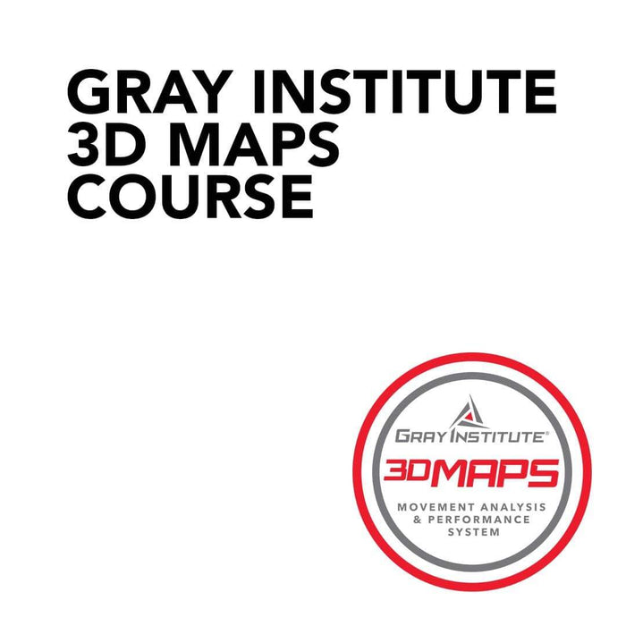 Course Gray Institute 3DMAPS Course