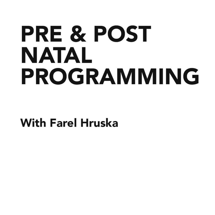 Course Pre and Post Natal Programming Course