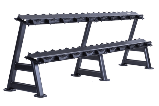 Dumbell Rack Jordan Fitness 2 Tier Dumbell Rack