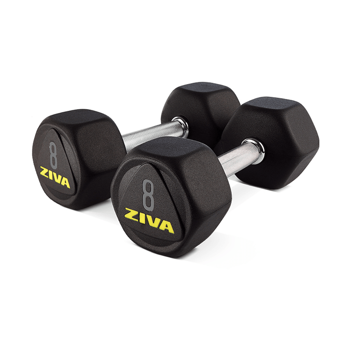 Dumbells Ziva Premium Hexagon Dumbbell (Pair)