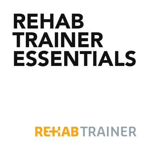 Education Rehab Trainer Courses