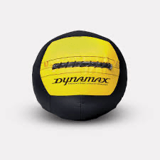 Medicine Ball 4lb / Black & Yellow Dynamax Medicine Ball