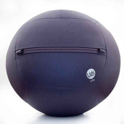 Medicine Ball 6lb Purple Ugi Fitness Ball Home Kit / Medicine Wall Ball Kit