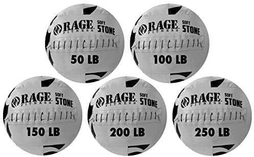 Medicine Ball Rage Fitness Atlas Soft Stone