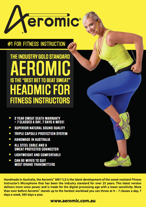 Microphone Aeromic Fitness Headmic