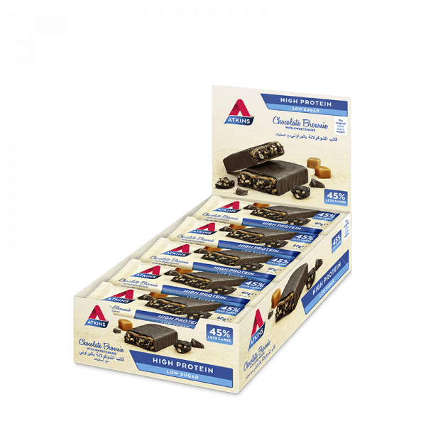 Nutrition Atkins Chocolate Brownie Protein Bar- AED 157.50