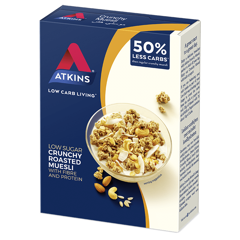 Nutrition Atkins Day Break Crunchy Muesli 325gm