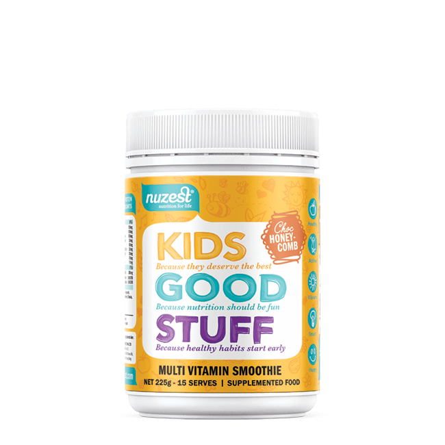 Nutrition Choc Honeycomb Nuzest Kids Good Stuff