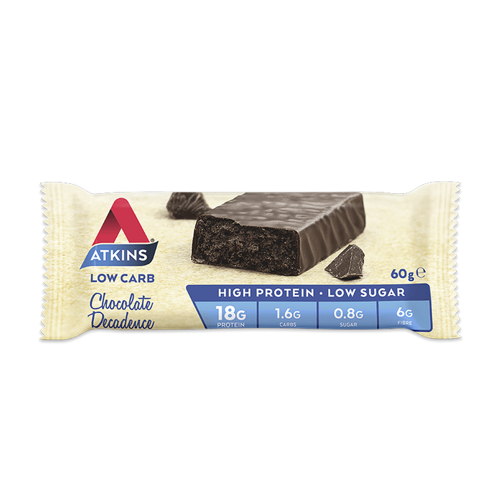 Nutrition Chocolate Decadence Atkins Advantage Protein Bars (Box of 15)