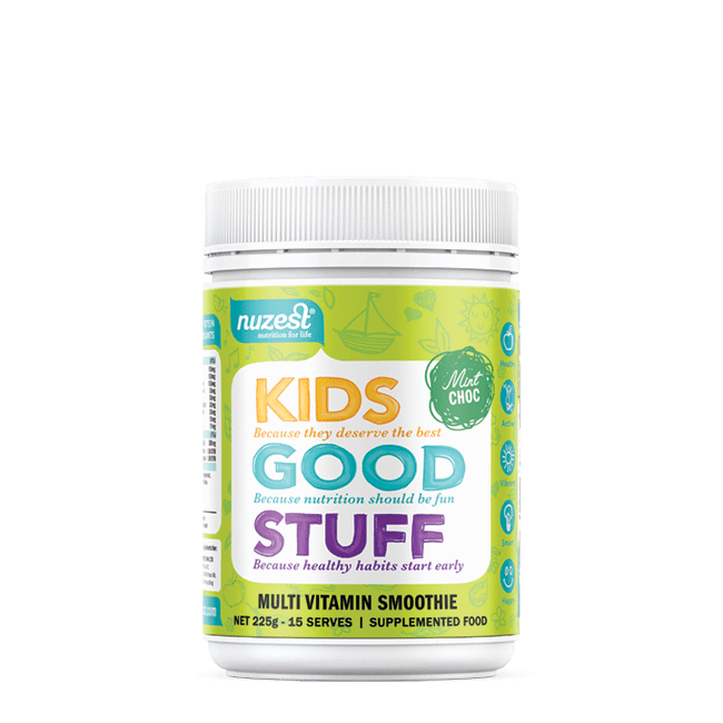 Nutrition Mint Chocolate Nuzest Kids Good Stuff