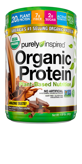 Nutrition Purely Inspired Organic Protein 1.5lbs Chocolate Purely Inspired Organic Protein 1.5lbs