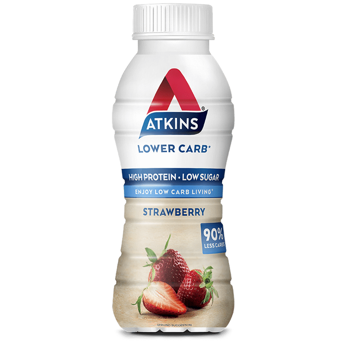 Nutrition Strawberry Atkins RTD Protein Shakes (Box of 6)