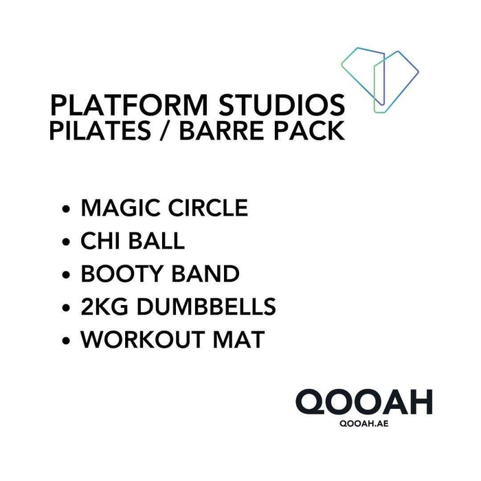 Pack Platform Studios Pilates / Barre Pack
