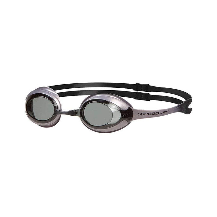 Swimming Goggles Black/Grey Speedo Merit Competition Goggles