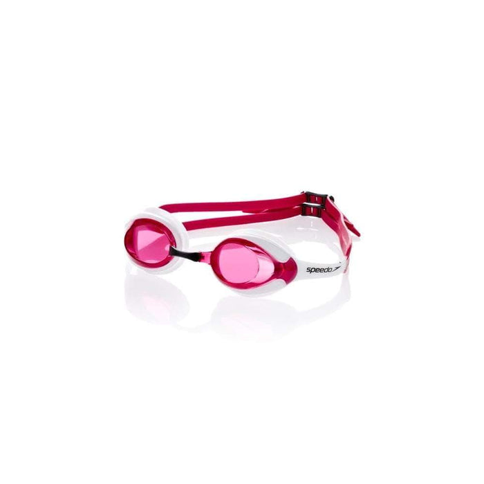 Swimming Goggles Red/White Speedo Merit Competition Goggles