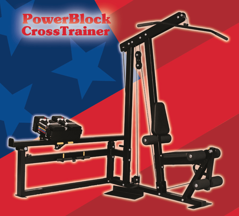 Total Gym Powerblock CrossTrainer Home Gym