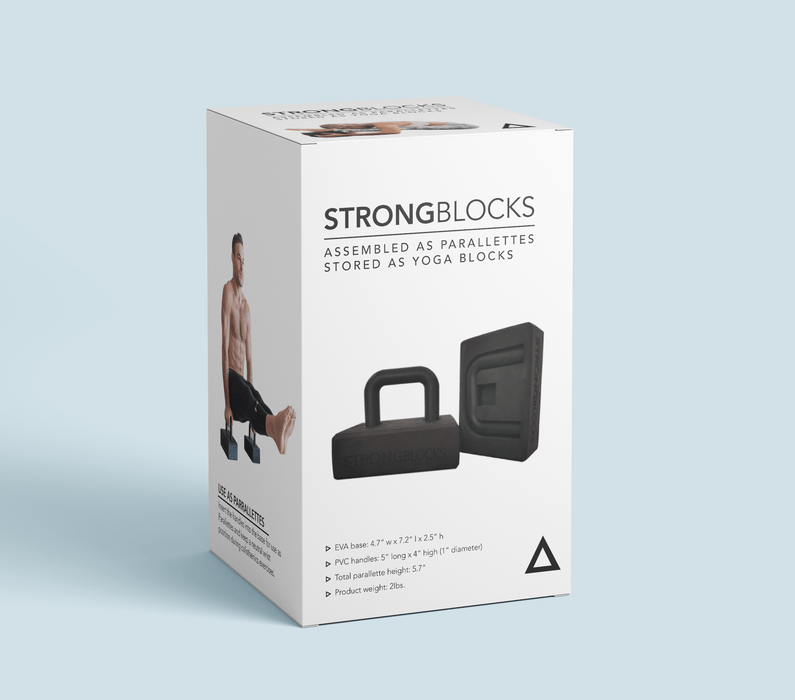 Yoga Block StrongBlocks V2 Yoga and Calisthenics Blocks (Pair)