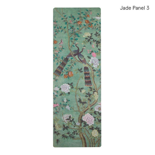 Yoga Mat Jade Panel 3 Sugarmat Travel Yoga Mat Chinoiserie