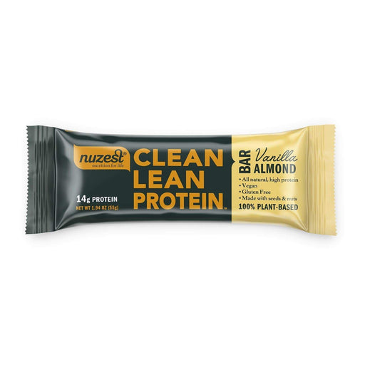 Nutrition Vanilla Almond Box of 12 Nuzest Clean Lean Protein Bars (Box of 12)