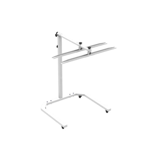 Horizontal Rack for Massage Tables and Physical Therapy Beds
