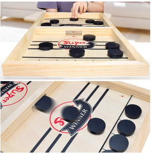 Table Air Hockey en Bois