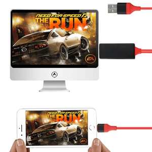 cable iphone vers hdmi