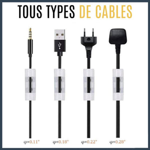 Le Câble Fixation Auto Collant Easycable