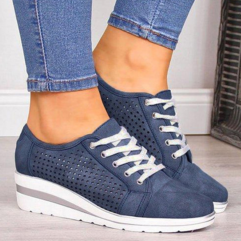 Les Baskets confort Lace Up confortables