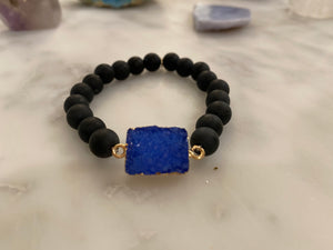 CONNECTED BLUE MATTE ONYX