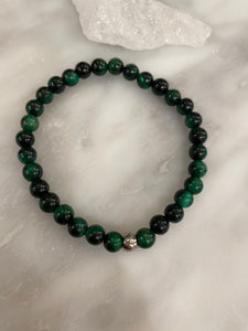 Men's Green Tiger's Eye
