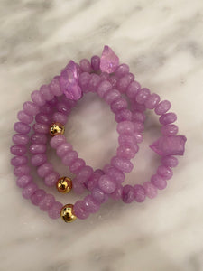 PURPLE JADE QUARTZ