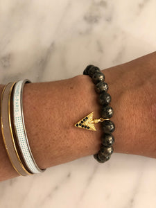 PYRITE ARROW BRACELET