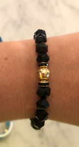 "The ""BLACK AGATE STAR"" Bracelet"