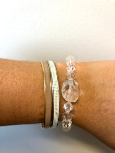 "The "" ULTIMATE CLEAR QUARTZ"" Bracelet"