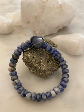 Load image into Gallery viewer, SODALITE HEART