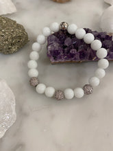 Load image into Gallery viewer, White Jade Rhinestones