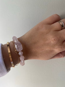 "The ""ULTIMATE ROSE QUARTZ"" Bracelet"