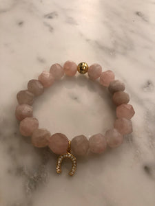 ROSE QUARTZ LUCKY BRACELET