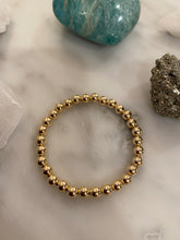 Load image into Gallery viewer, Gold Filled Ball Bracelet 6mm