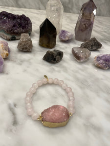 CONNECTED ROSE QUARTZ