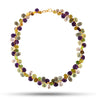 Multi-gem Amethyst & Green Garnet Signature Necklace