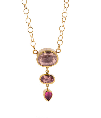 Tourmaline Tiers Necklace