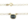 Black Diamond Gold Choker