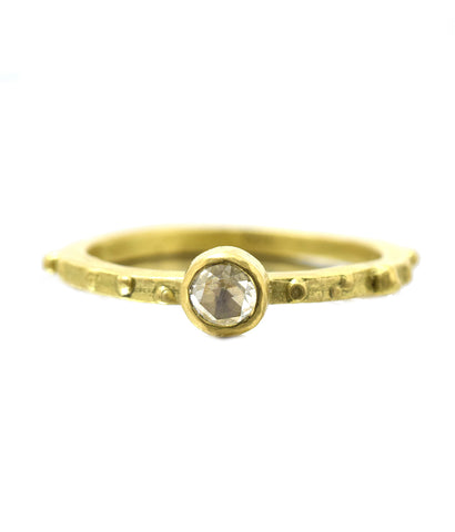 Diamond Solitaire 18K Gold