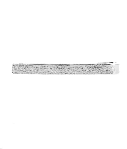 'Mad Men' Style Hammered Tie Bar IV