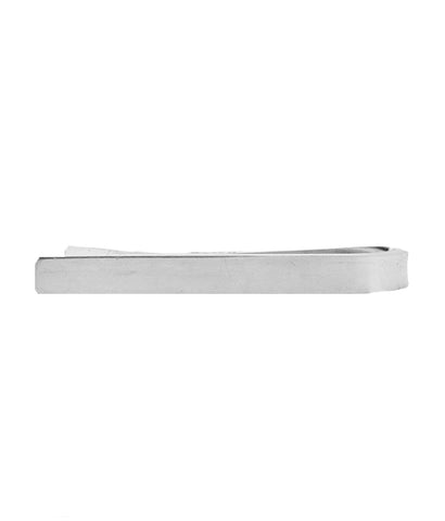 'Mad Men' Sleek Sterling Silver 925 Tie Clip III
