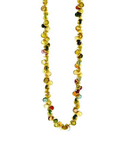 Signature multi color Tourmaline  Necklace