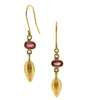 South Sea Natural Gold Pearls with Tourmaline